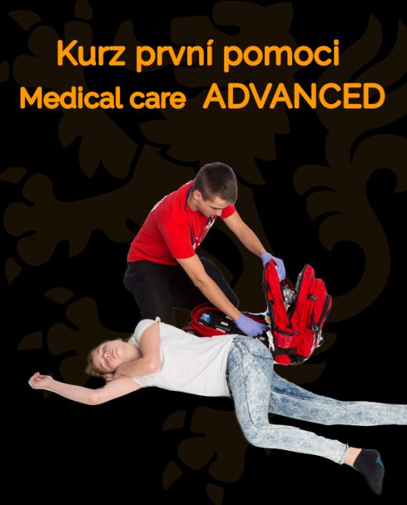 Ikonka kurzu Kurz první pomoci ADVANCED