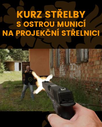 THORTAC Ikonka kurzu Střelba s ostrou municí na projekční střelnici