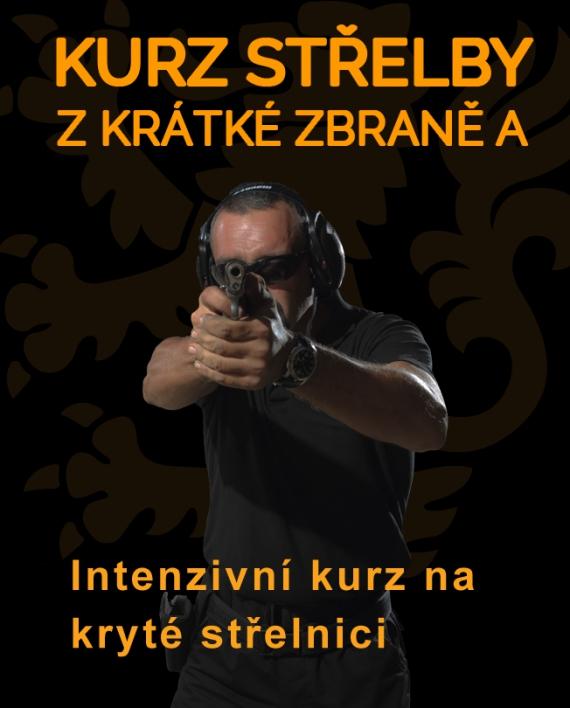 THOR TAC Ikonka kurzu střelba z krátké zbraně A krytá střelnice