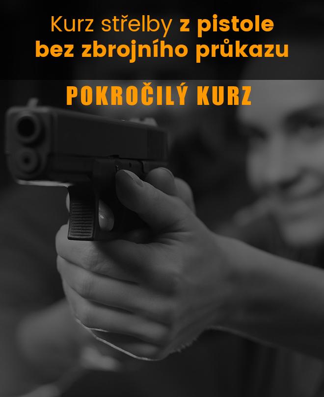 Střelba bez ZP, pokročilý kurz