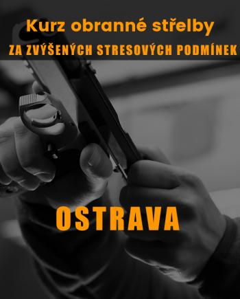 Obranná střelba stres Ostrava