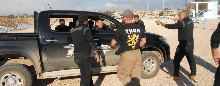 Sýrie HAT policejní taktika